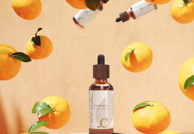 Hudvård med vitaminer. Detta är ansiktsserumet med Vitamin C från Nanoil